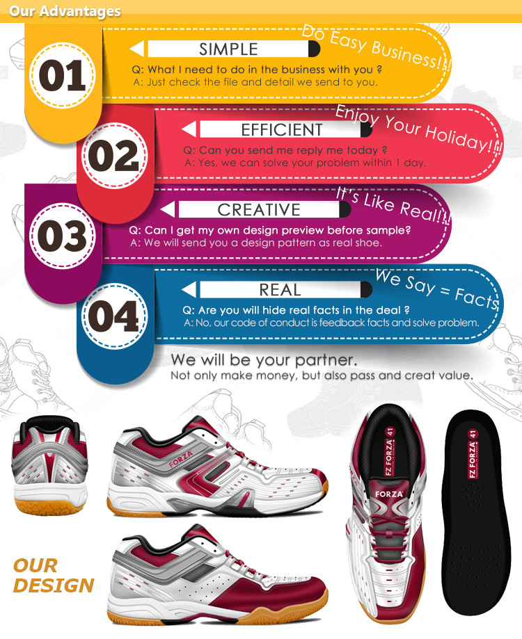 New Design Vietnam Factory Online Women Girls Badminton Shoes