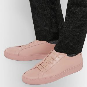 Leather Low Top Sneakers (2)