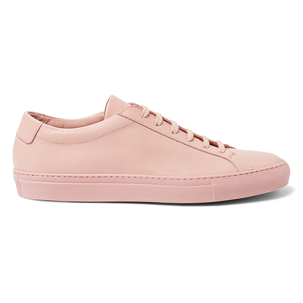 Leather Low Top Sneakers (5)