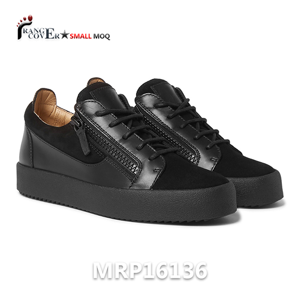 Black Low Top Sneakers (1)