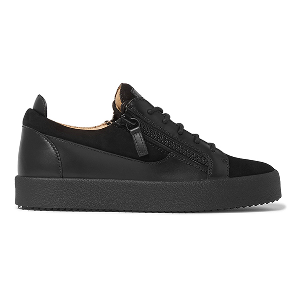 Black Low Top Sneakers (4)