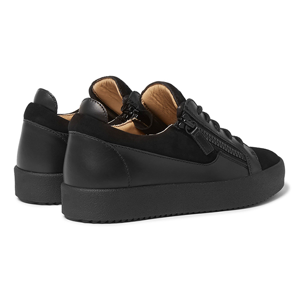 Black Low Top Sneakers (5)
