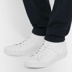Men's All White High Top Sneakers (2)