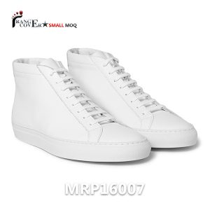 Womens White High Top Sneakers (1)