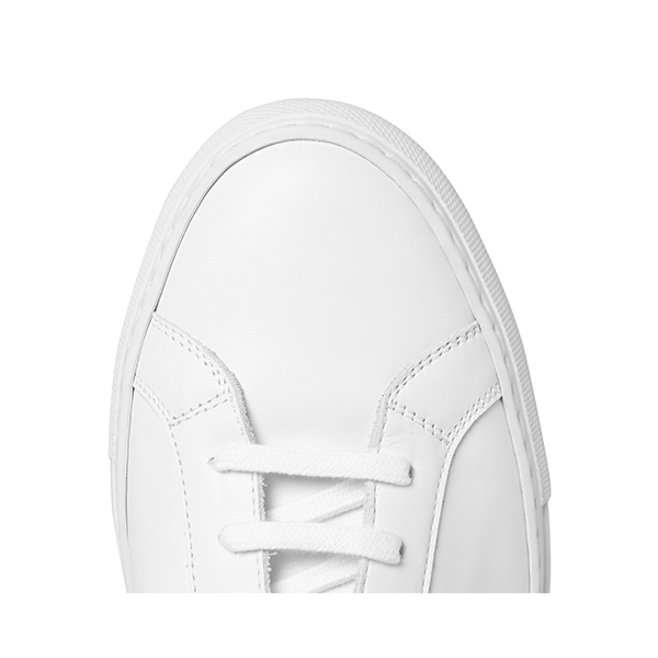 Womens White High Top Sneakers (6)