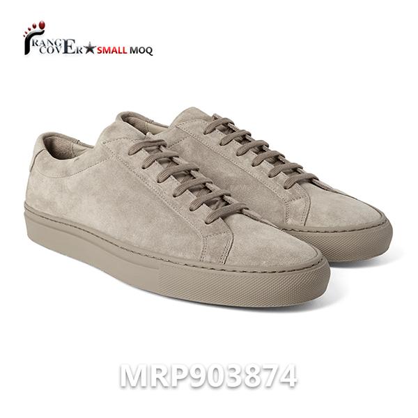 Suede Low Top Sneakers (1)