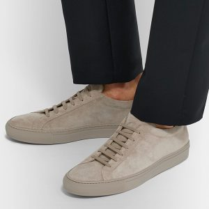 Suede Low Top Sneakers (2)