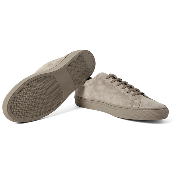 Suede Low Top Sneakers (3)