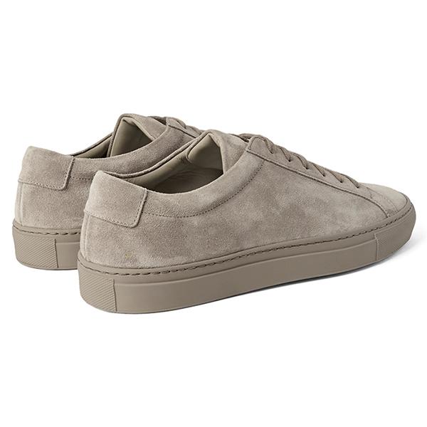 Suede Low Top Sneakers (4)