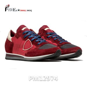 Red Low Top Sneakers (1)