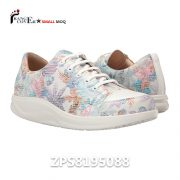 Factory Custom Printing Pu Leather Fashion Sneakers Girl