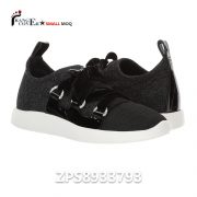 Decorative ribbon Women Sneaker Custom Shoes Black