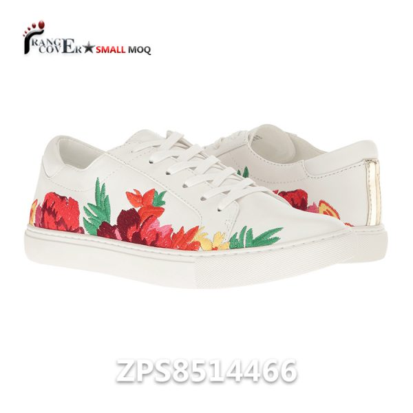 Embroidery Women Sneakers Zapatos Para Mujeres
