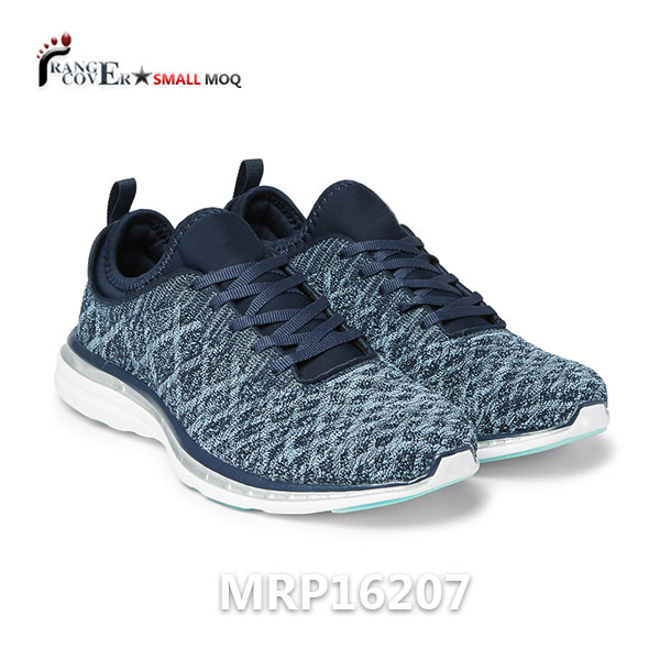 2018 New Design Neoprene Collar Dynamic 3D Sport Shoes Men Running