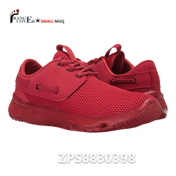 Custom Mesh Quick Dry Comfort Red Women Running Sneakers Shoes