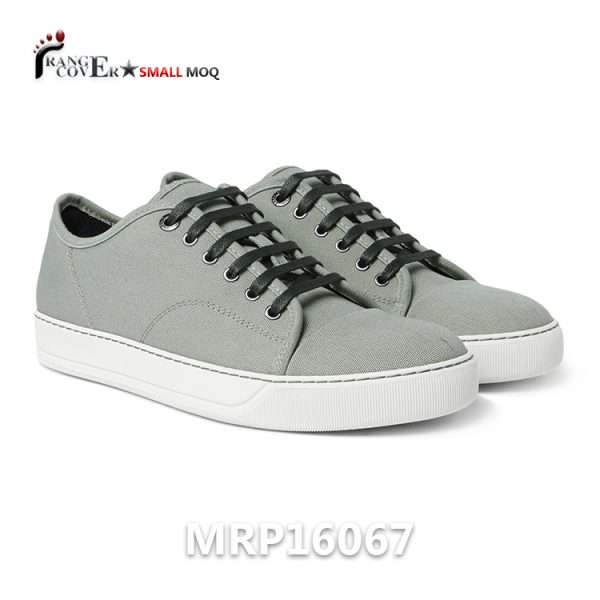 Classic Stylish French Hot Sell Men Canvas Shoes Zapatos De Lona