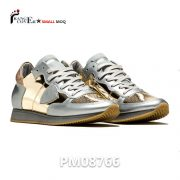 Gold Glitter Factory Female Custom Fashion Sneakers Woman