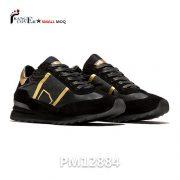Italian Luxury Sneakers Two Tone Women Shoes