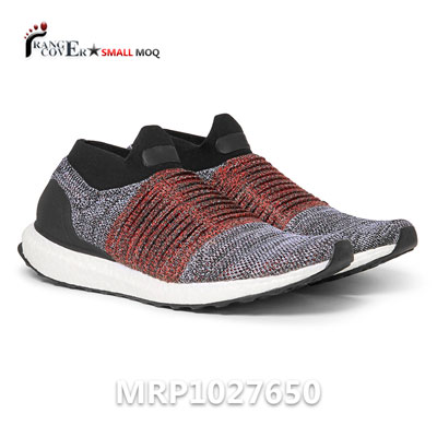 Custom Slip on Flyknit Running Shoes Black Sock Sport Shoes