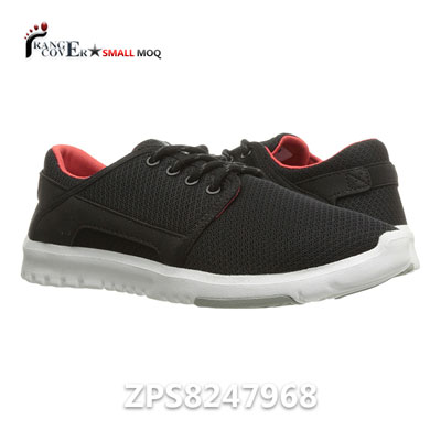 New Arrival Casual Weekend Style Black Women Sneakers